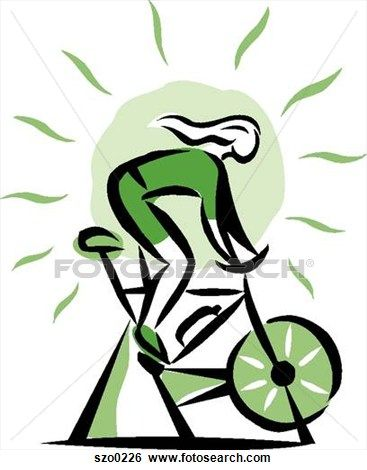 Bicycle clipart indoor cycling.