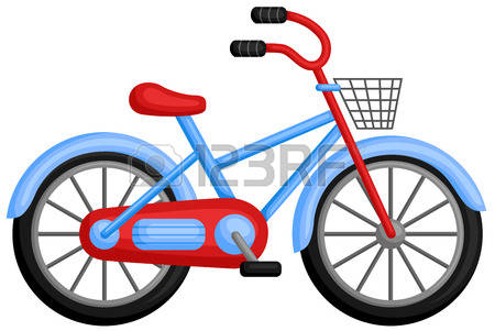 Bicycle clipart land transportation.