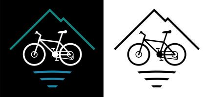 Bicycle clipart logo.