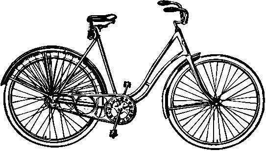 Bicycle clipart non living thing.