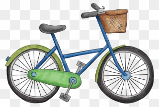 Bicycle clipart pedal bike.