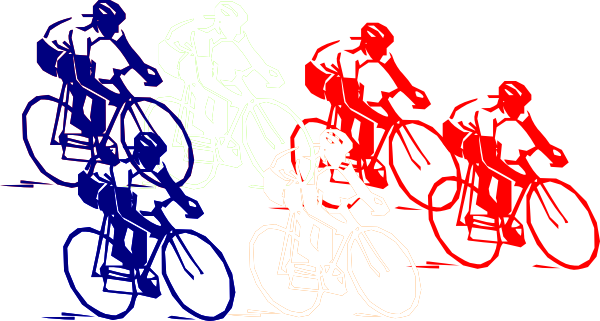 Bicycle clipart racing bicycle.