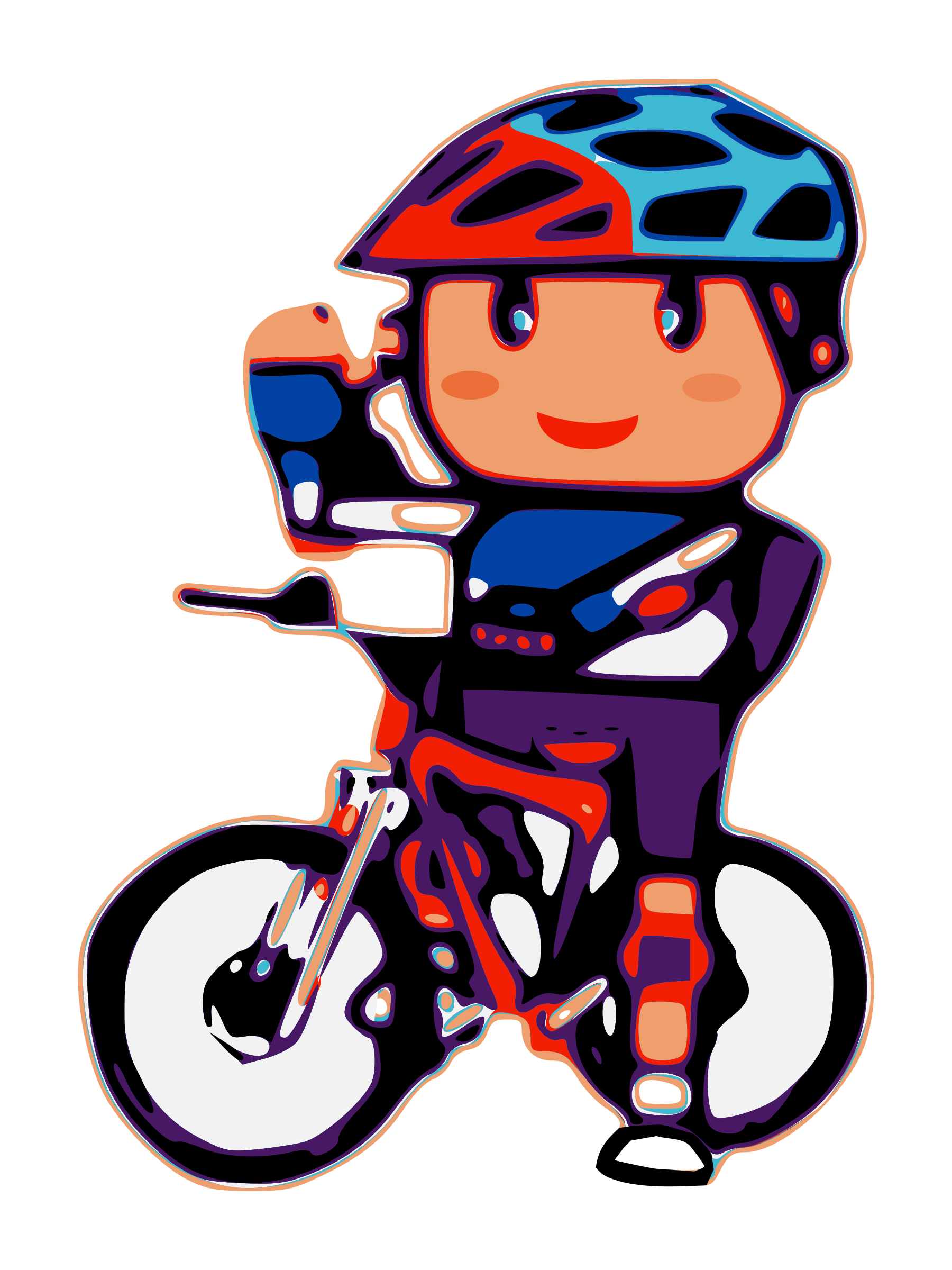 Bicycle clipart spin bike.