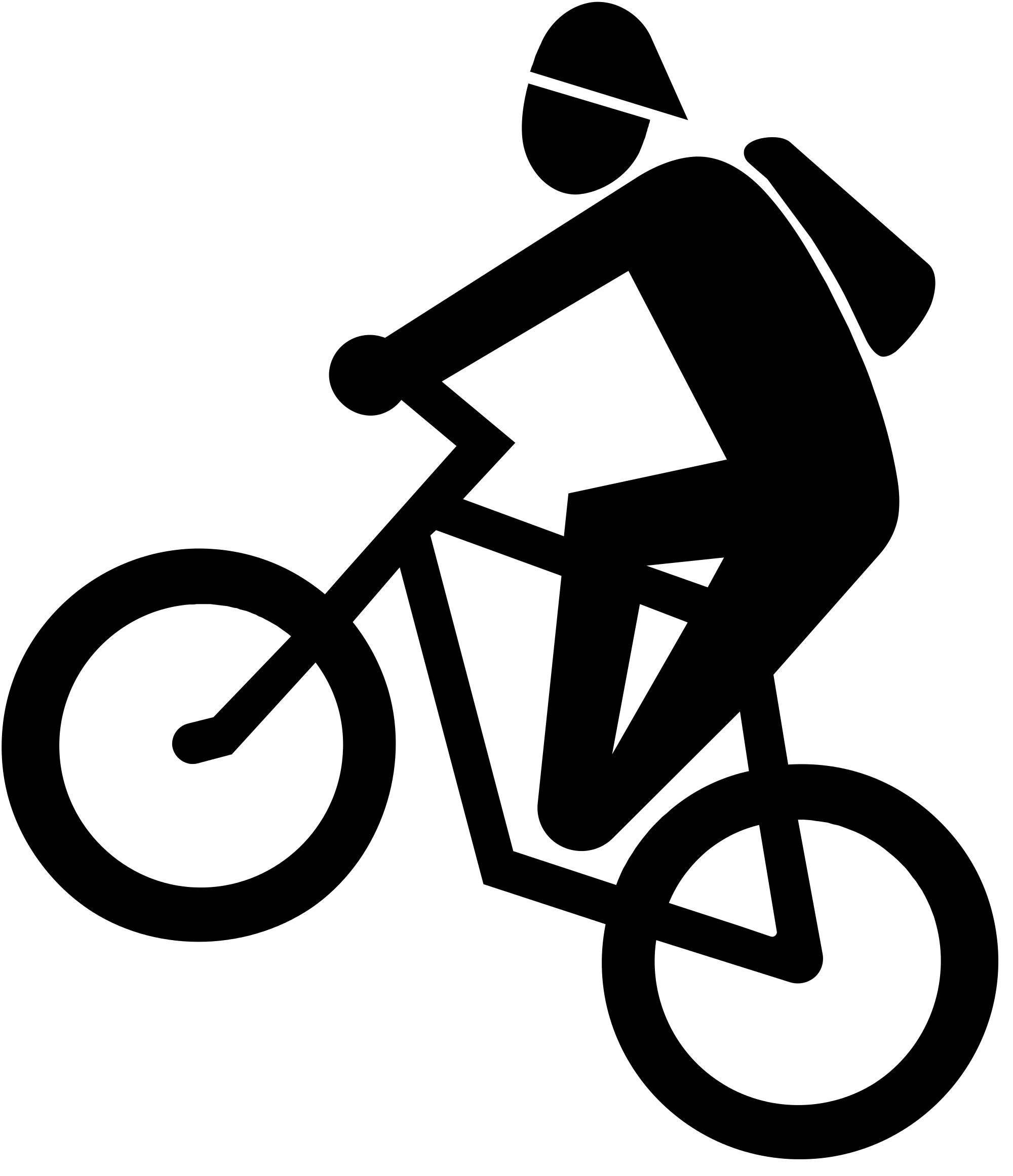 Bicycle clipart svg free.