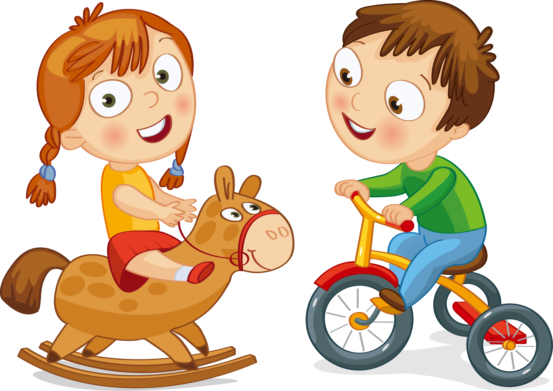 Bicycle clipart toddler bike.