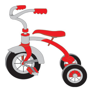 Bicycle clipart toy.