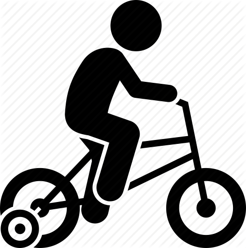 Bicycle clipart training wheel clipart.