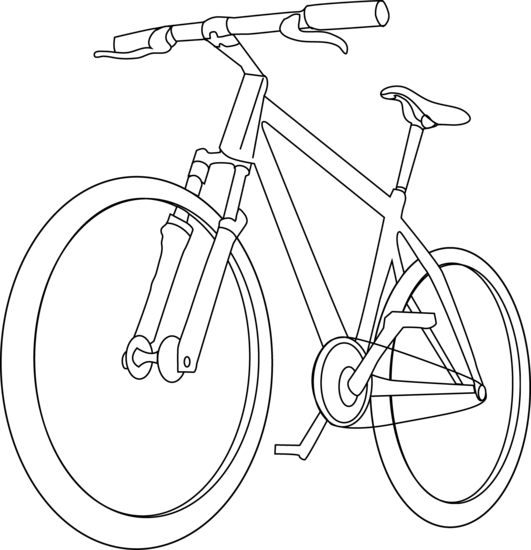 Bicycle clipart transportation.