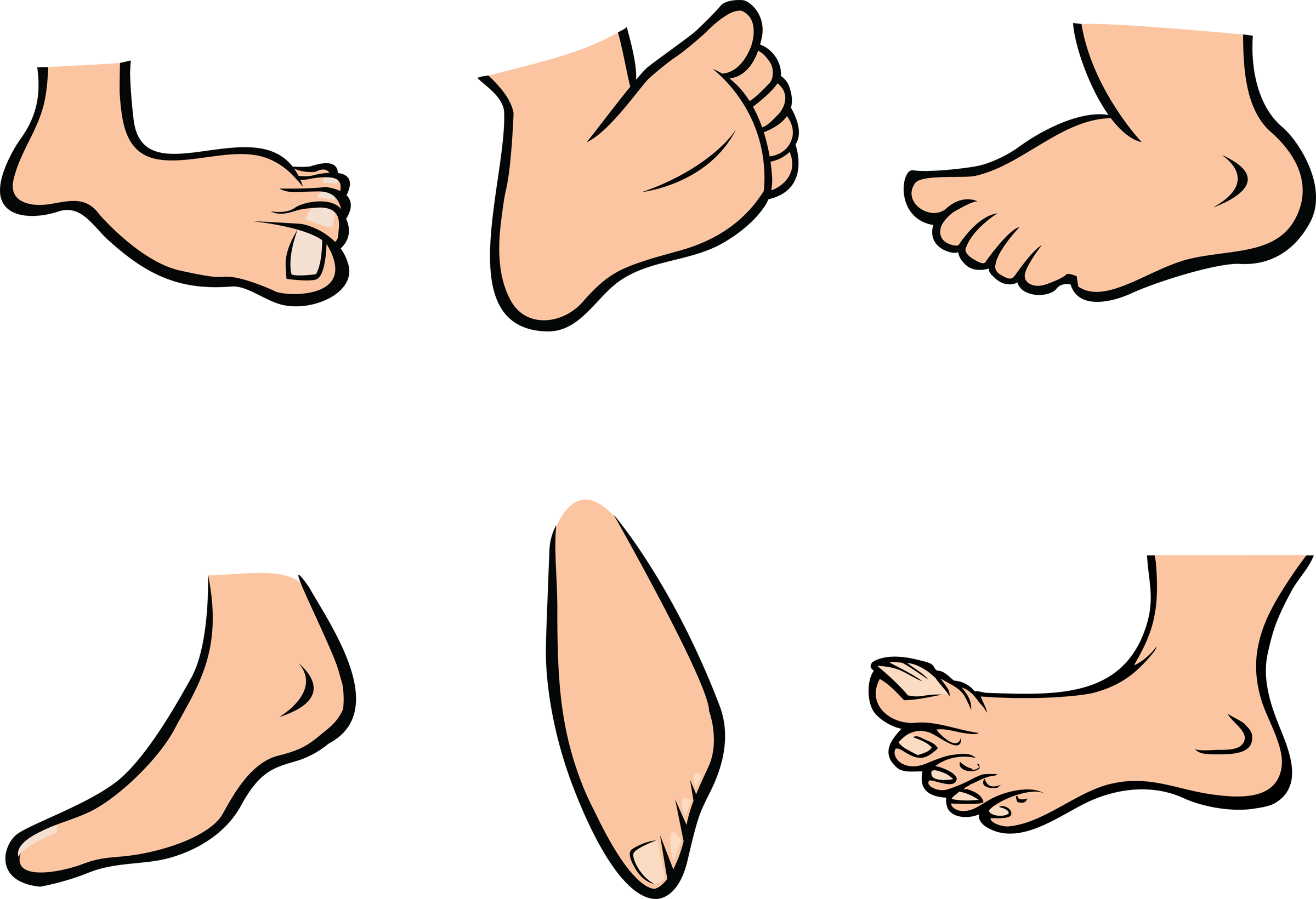 foot clipart animated