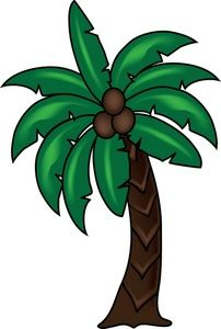 palm trees clipart summer
