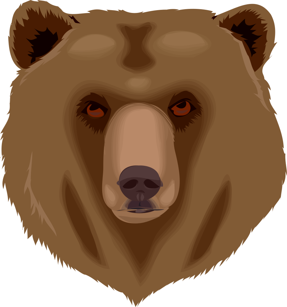 Big clipart grizzly bear.