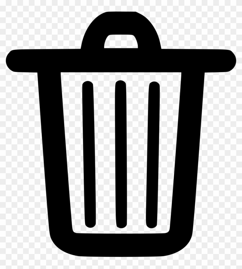 trash can clipart icon