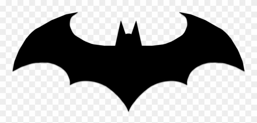 Black clipart batman.