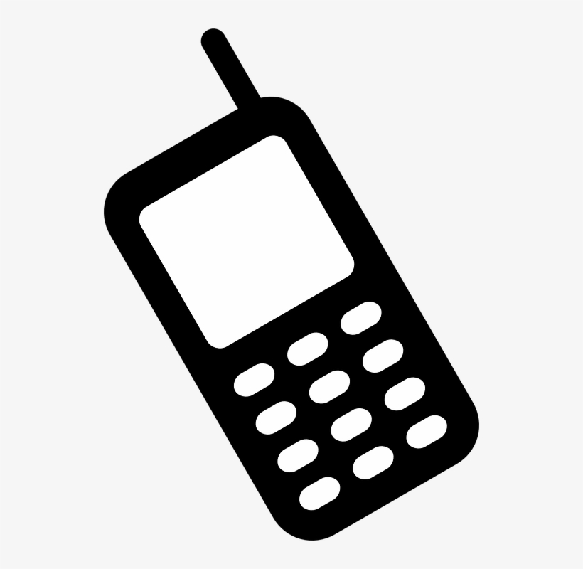 phone clipart cell