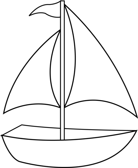 sailboat clipart sailing boat