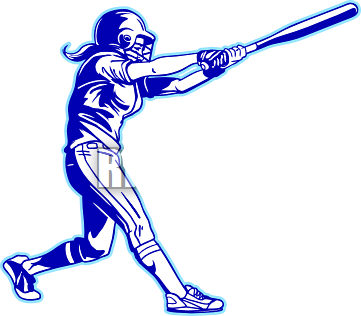 Black clipart softball.