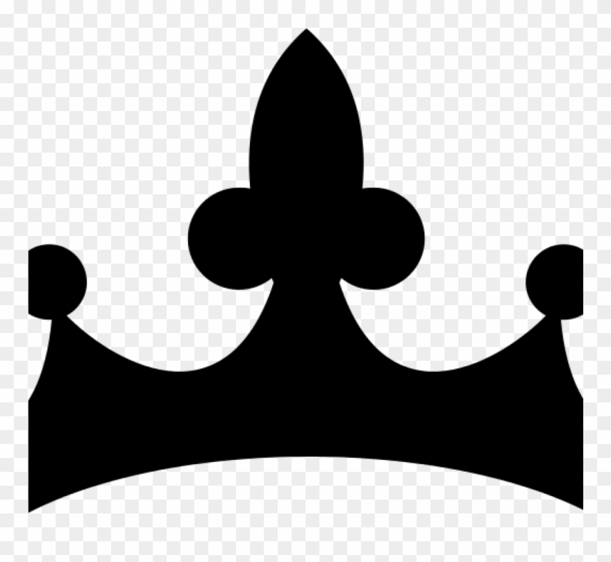 queen crown clipart black