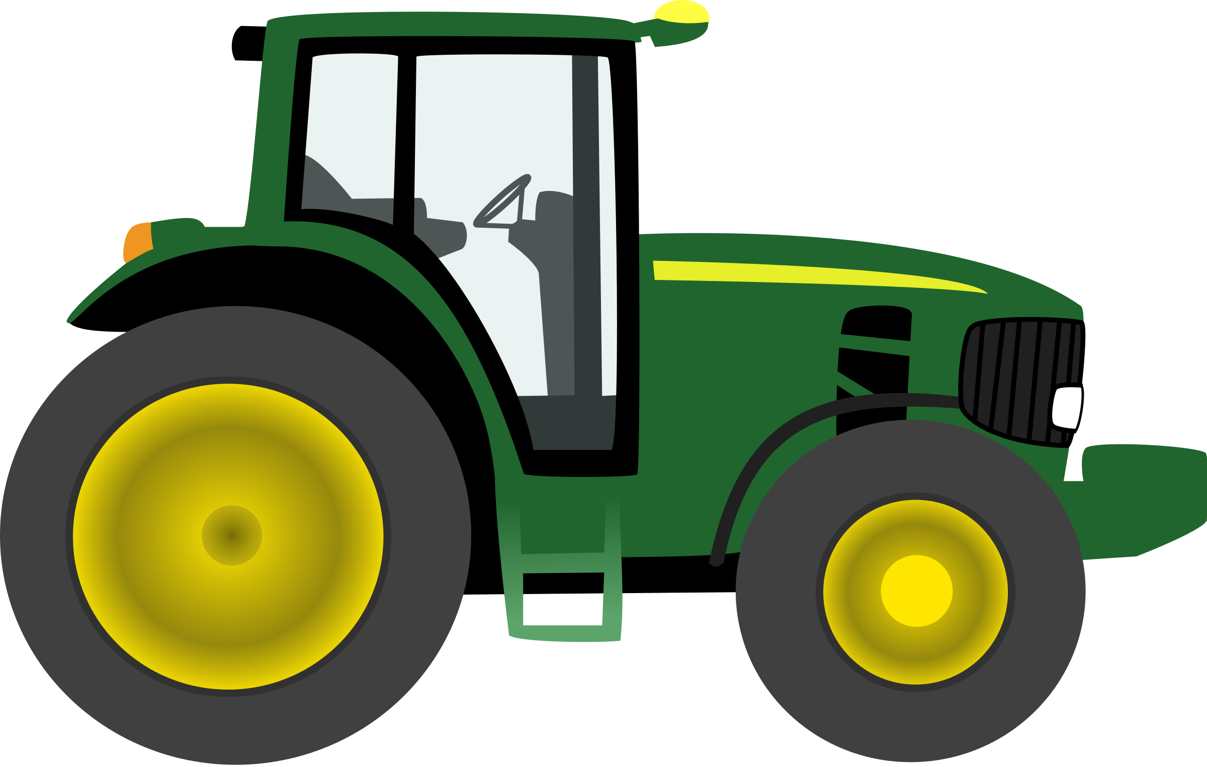 tractor clipart cute