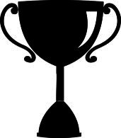 trophy clipart silhouette