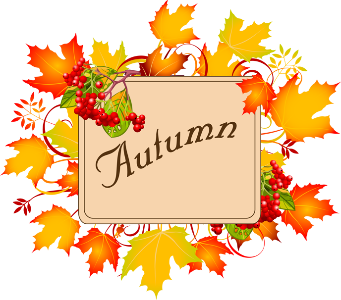 Autumn clipart thank.