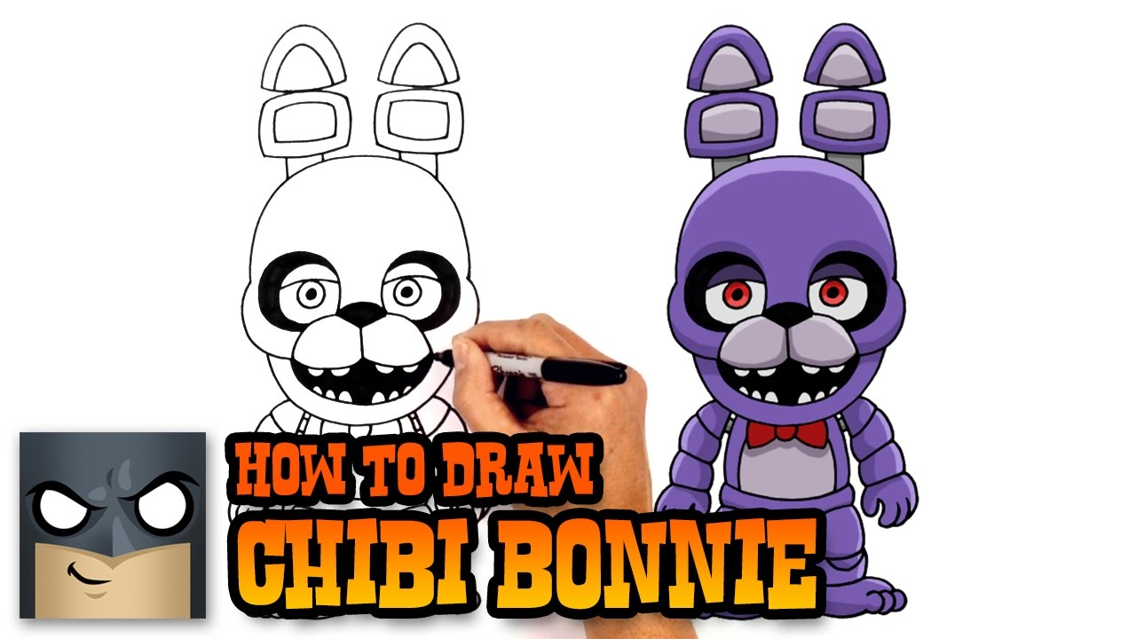 Bonny clipart draw withered bonnie.
