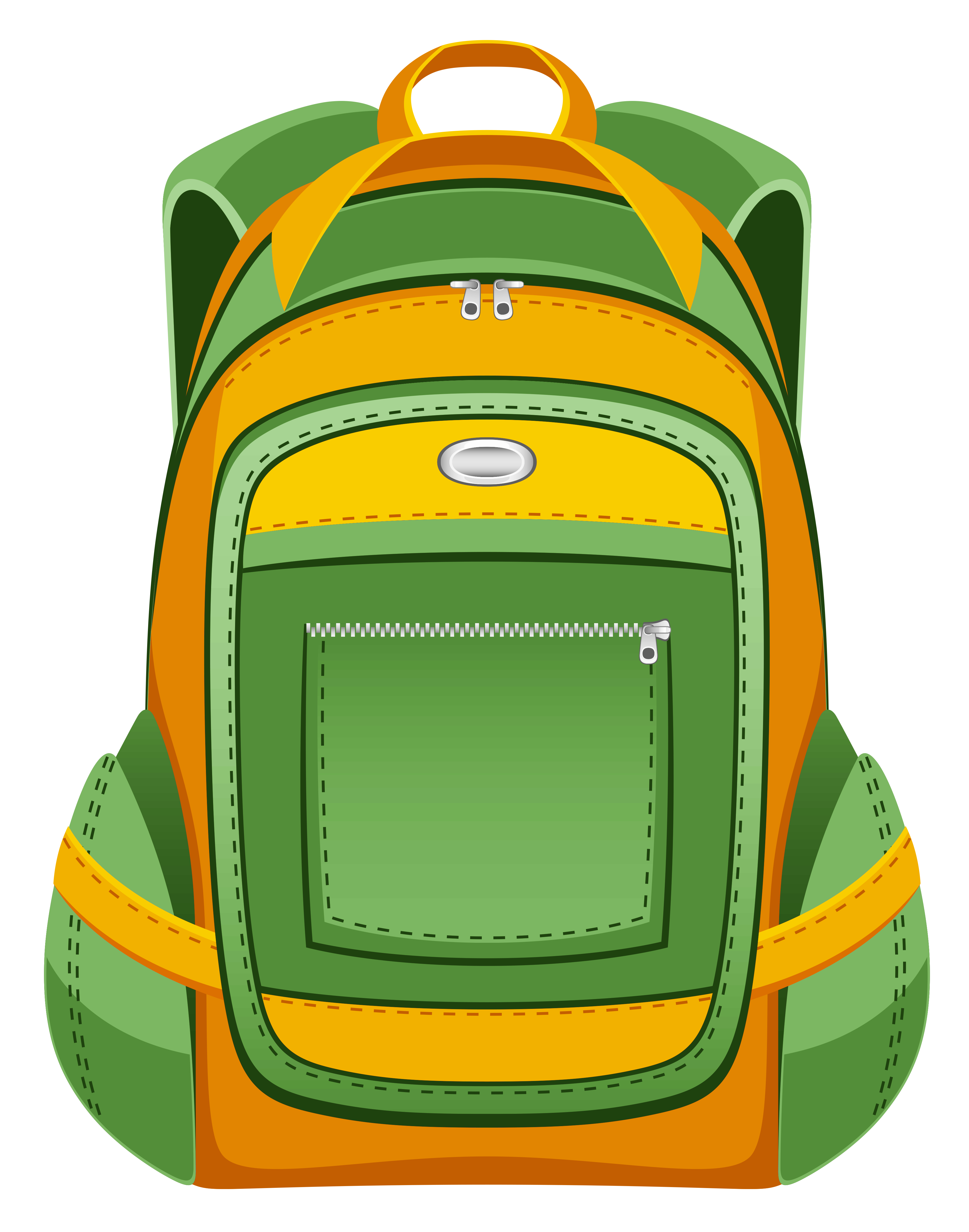 backpack clipart supplies