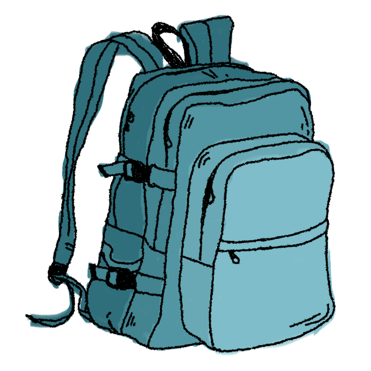 backpack clipart hand luggage