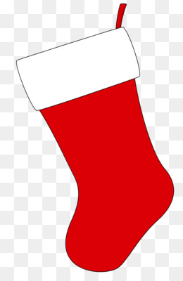 christmas stocking clipart outline