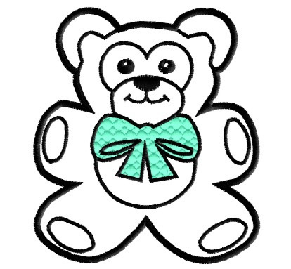 Bow clipart teddy.