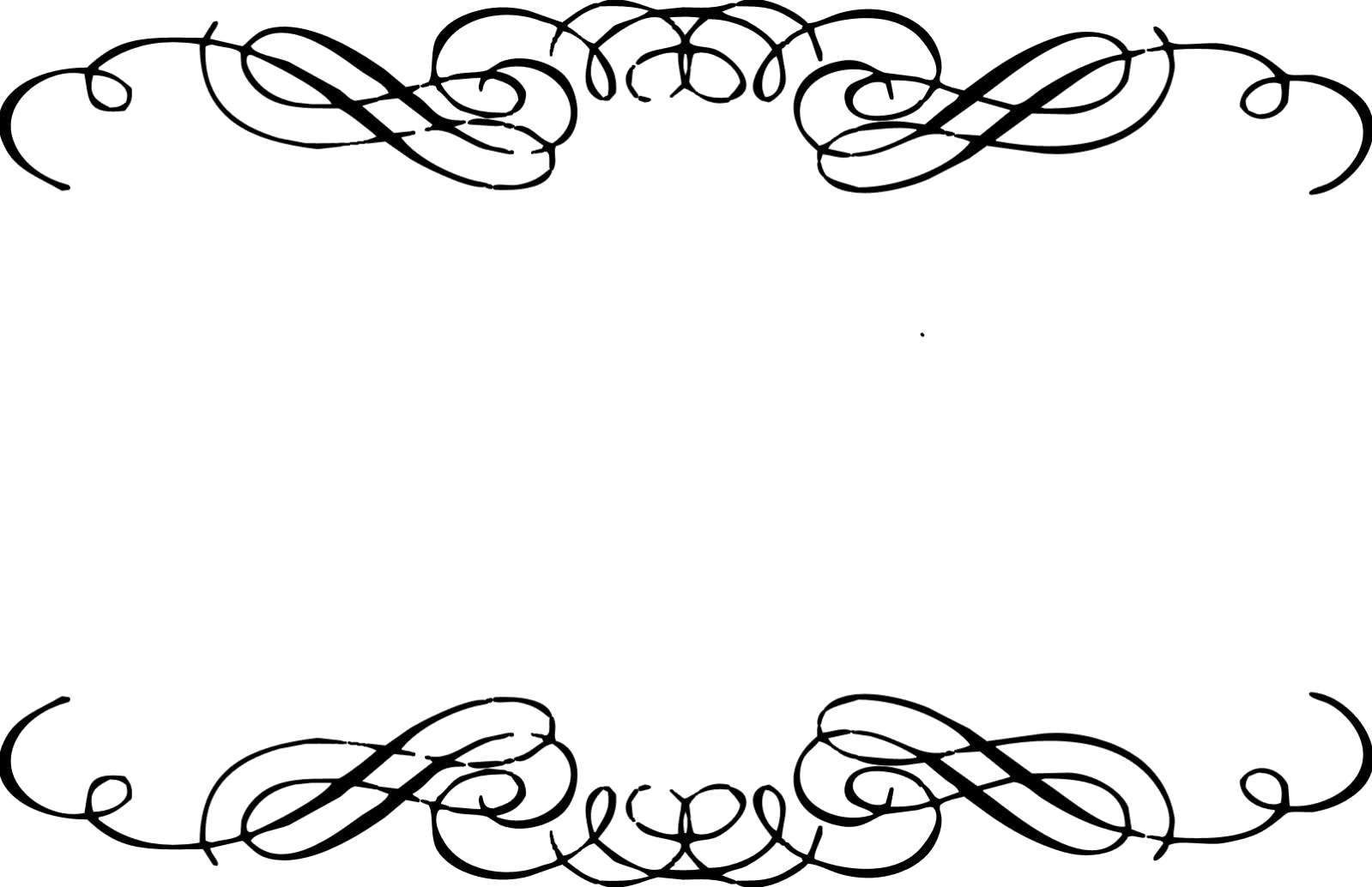 Bow clipart curly q.