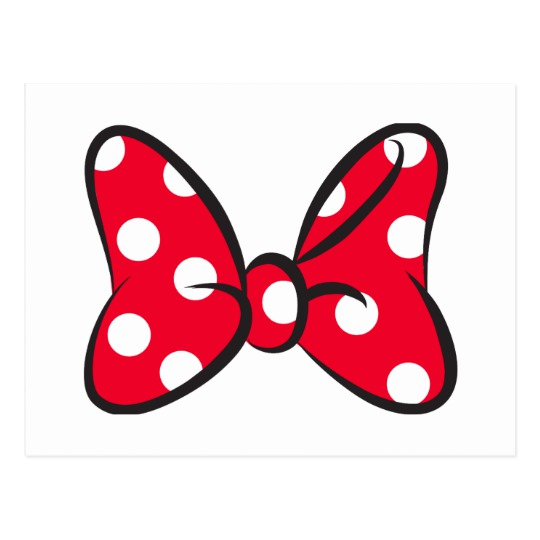 bow clipart minnie mouse
