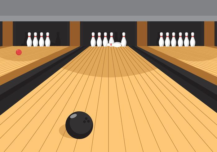 Bowling clipart alley.