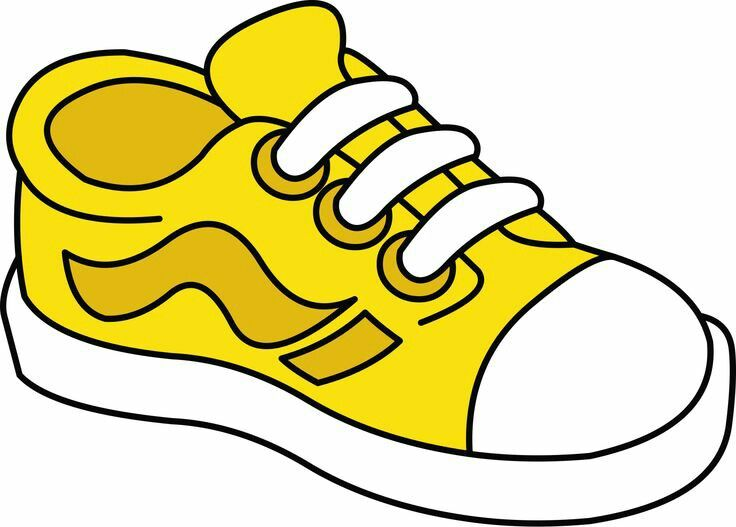 clipart shoes kid