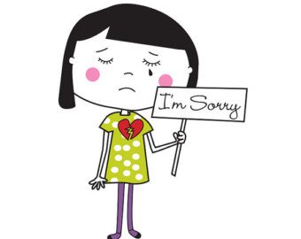 sorry clipart