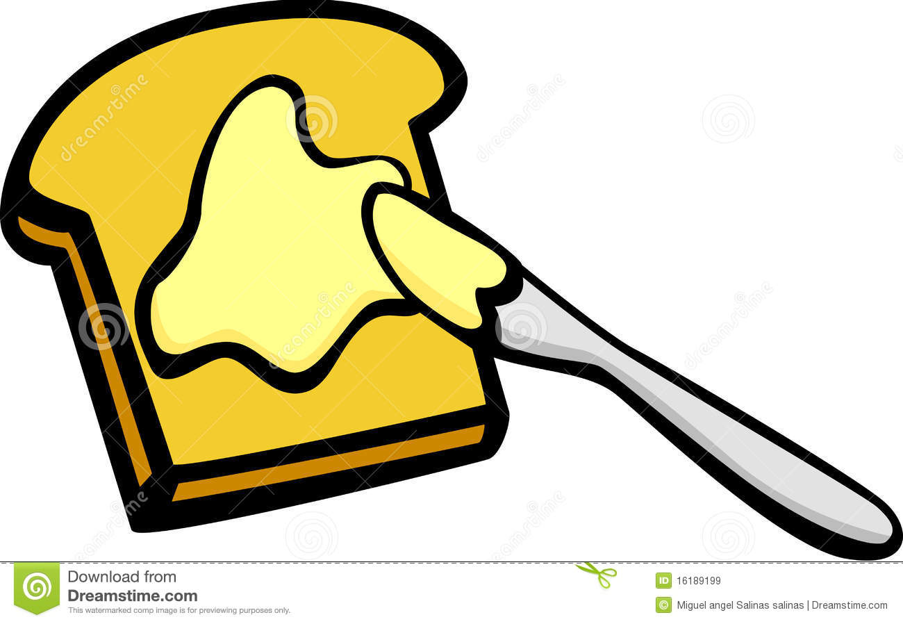 butter clipart melted