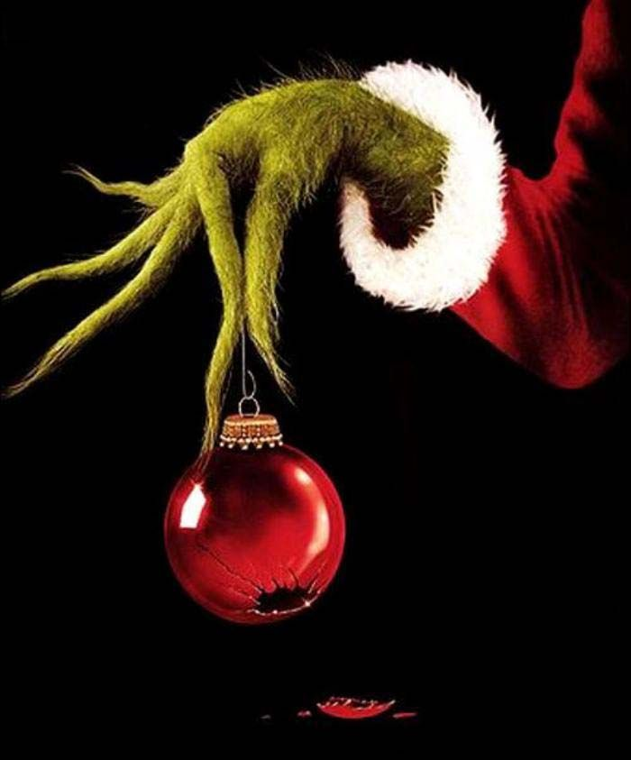 ornaments clipart grinch