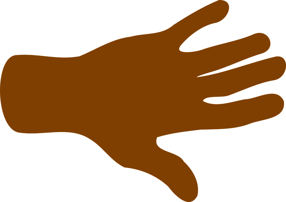 arms clipart brown