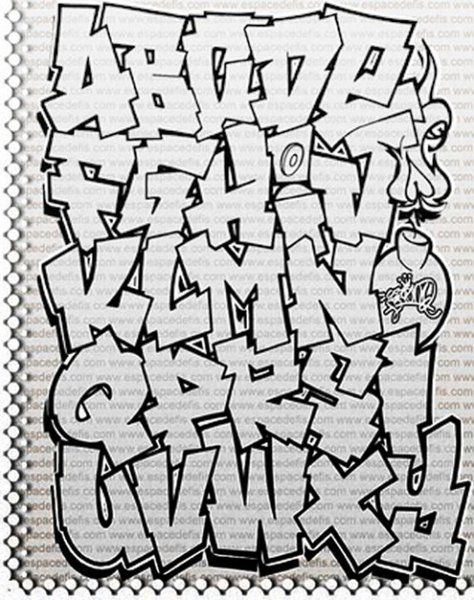 Bubble clipart graffiti letters.