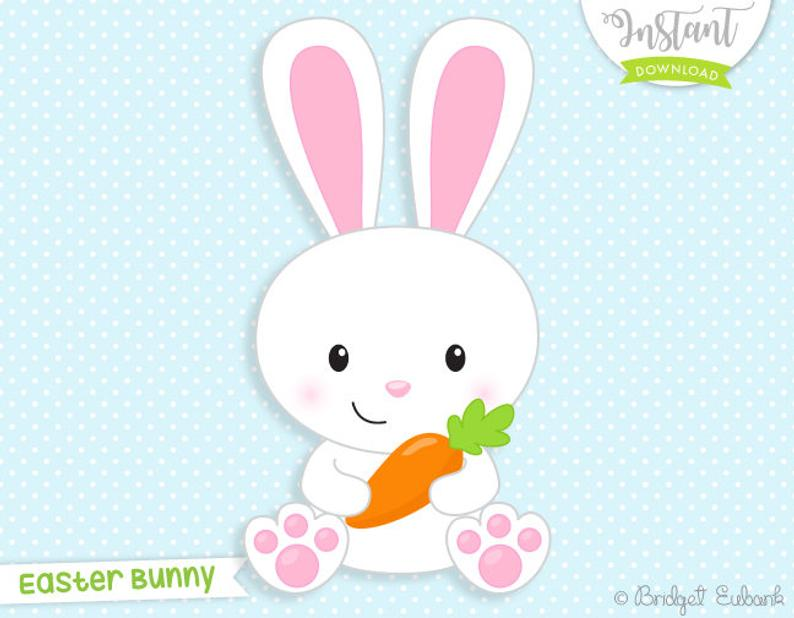 Bunnies clipart carrot.