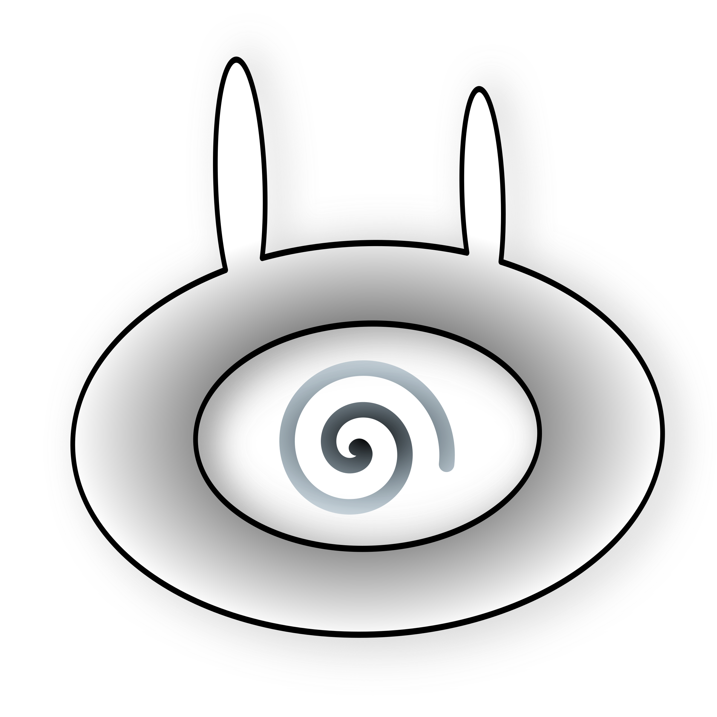 Bunnies clipart eye.