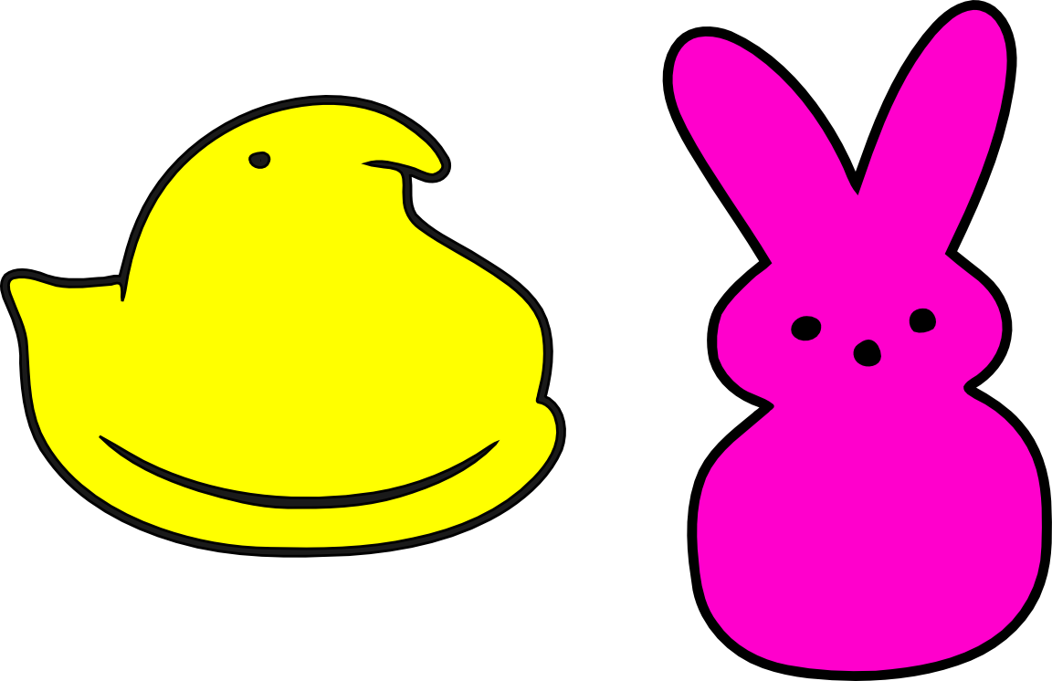 peeps clipart chick