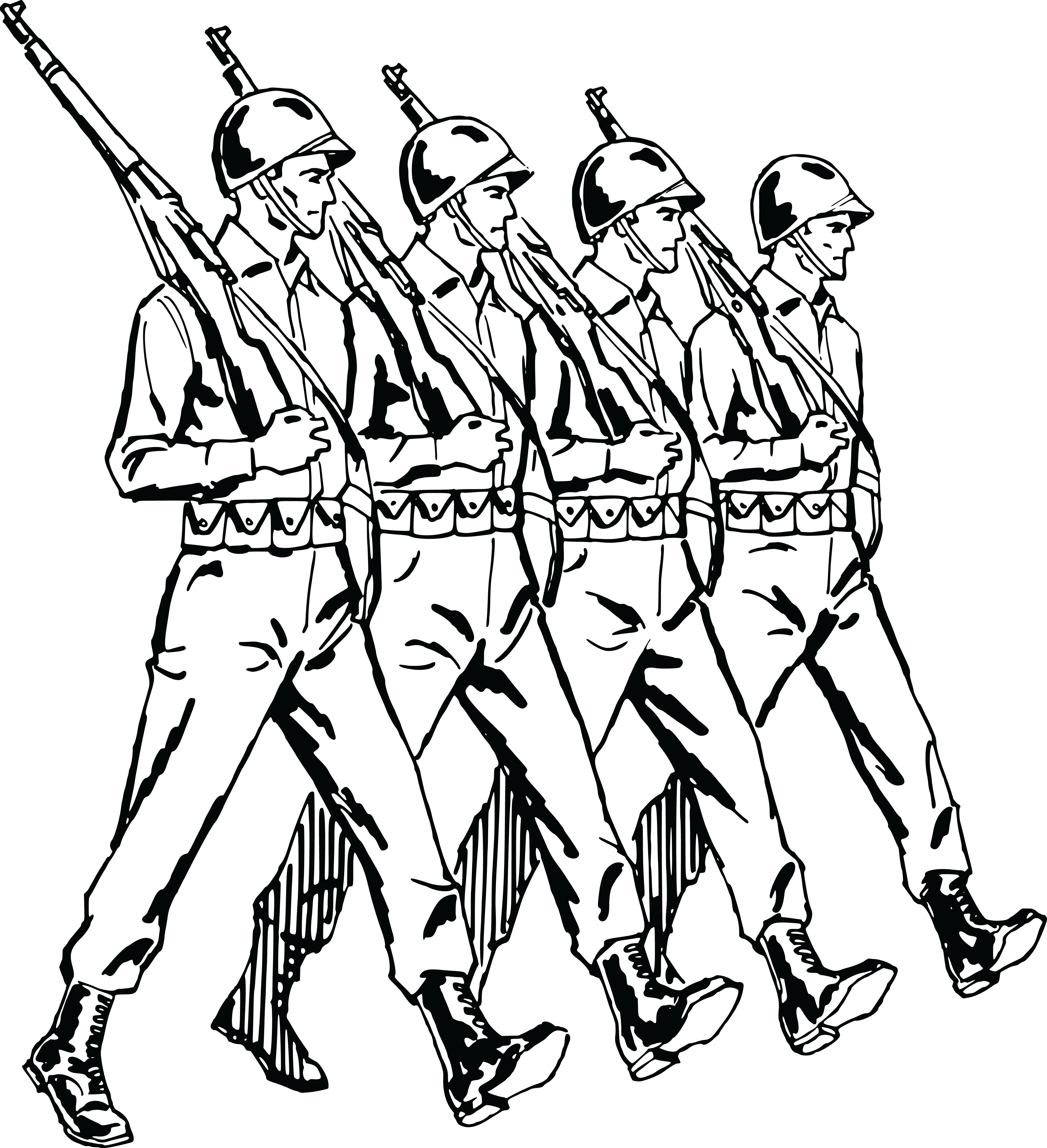 parade clipart soldier