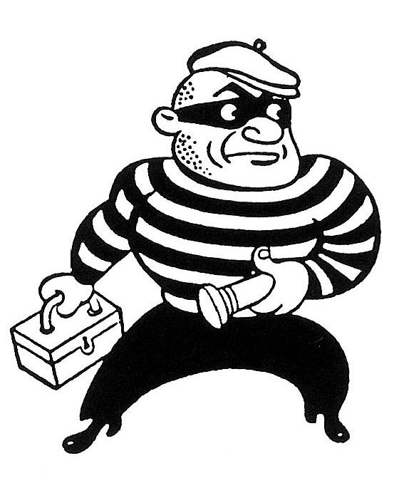 Burglar clipart smooth criminal.