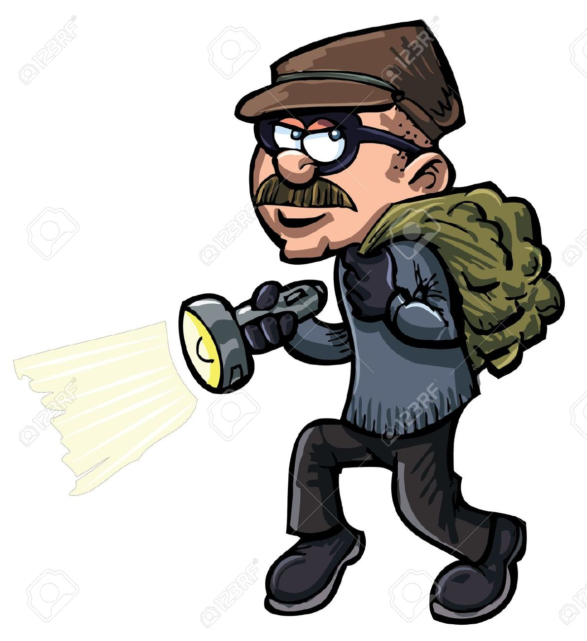 2 clipart robber.
