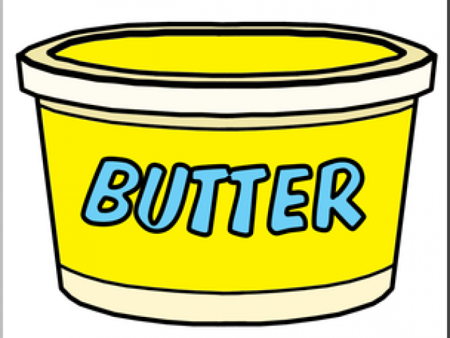 butter clipart smooth