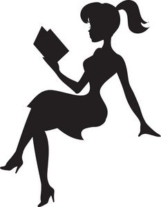 Clipart reading silhouette.
