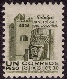 Cancun clipart postage stamp.