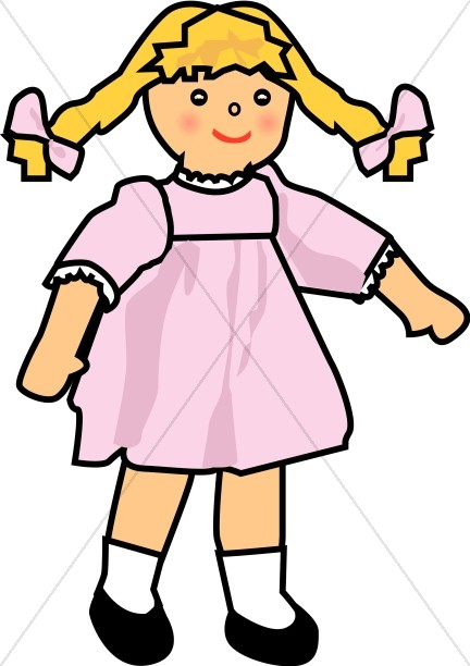 doll clipart baby