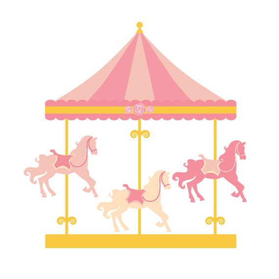 carnival clipart merry go round