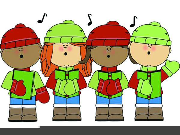 Carolers clipart.